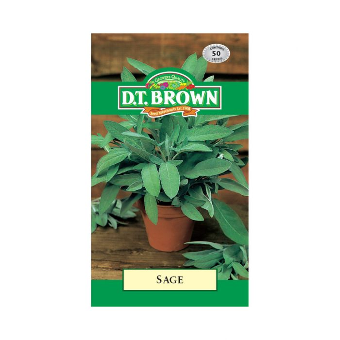D.T. Brown Sage  ] 5030075027157 - Flower Power
