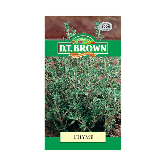 D.T. Brown Thyme  ] 5030075027188 - Flower Power