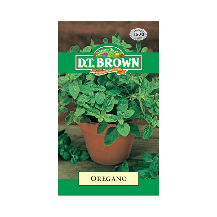 D.T. Brown Oregano  ] 5030075027195 - Flower Power