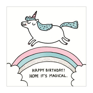 Almanac Gallery Magical Birthday Card  ] 5060415834077 - Flower Power