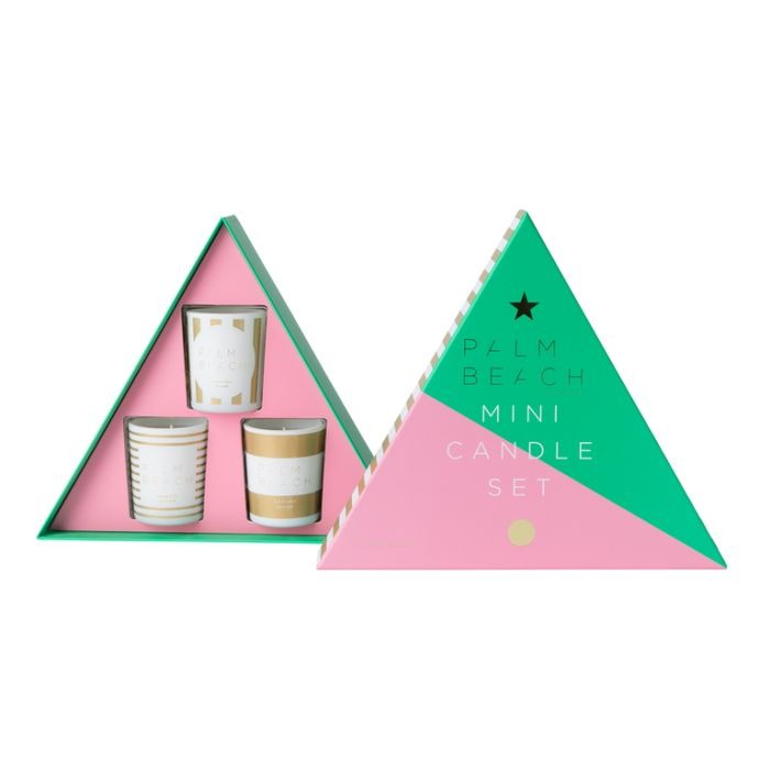 Palm Beach Christmas 2019 Mini Candle Trio Pack  ] 735850319032 - Flower Power