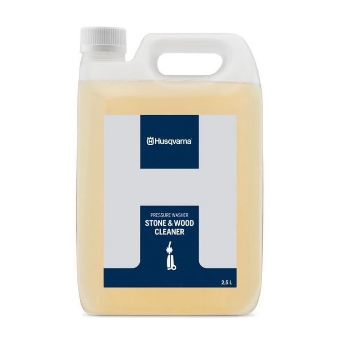 Husqvarna Pressure Washer Stone & Wood Cleaner 2.5 Litre  ] 7391736368384 - Flower Power