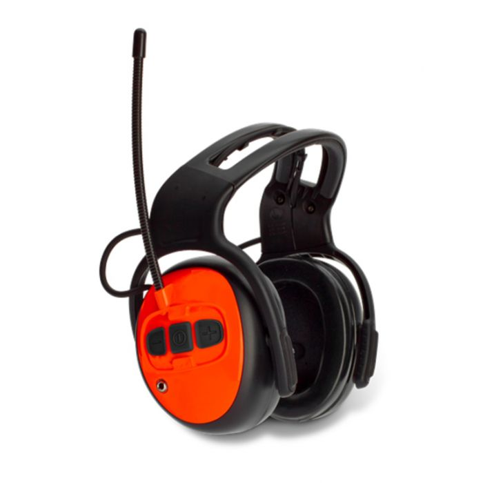 Husqvarna FM Radio Earmuff Hearing Protection  ] 7391883710579 - Flower Power