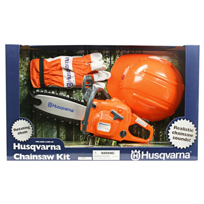 Husqvarna Toy Chainsaw Kit  ] 7393089066467 - Flower Power