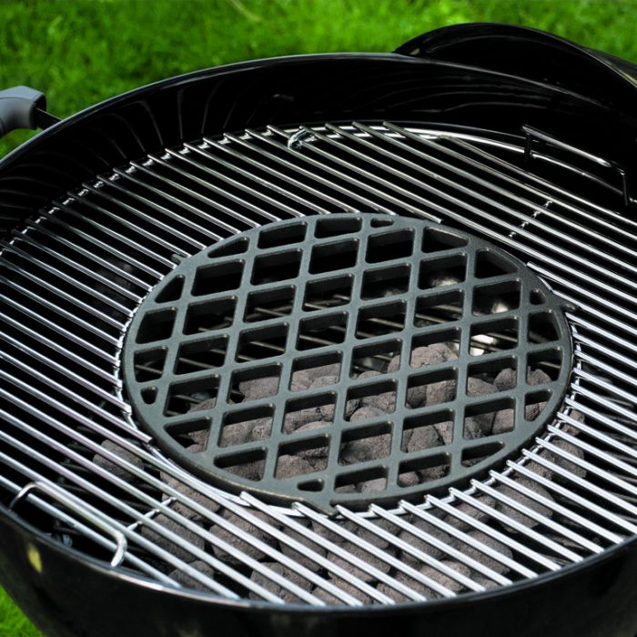 Weber® Gourmet Barbecue System Cast Iron Sear Grate  ] 77924004353 - Flower Power