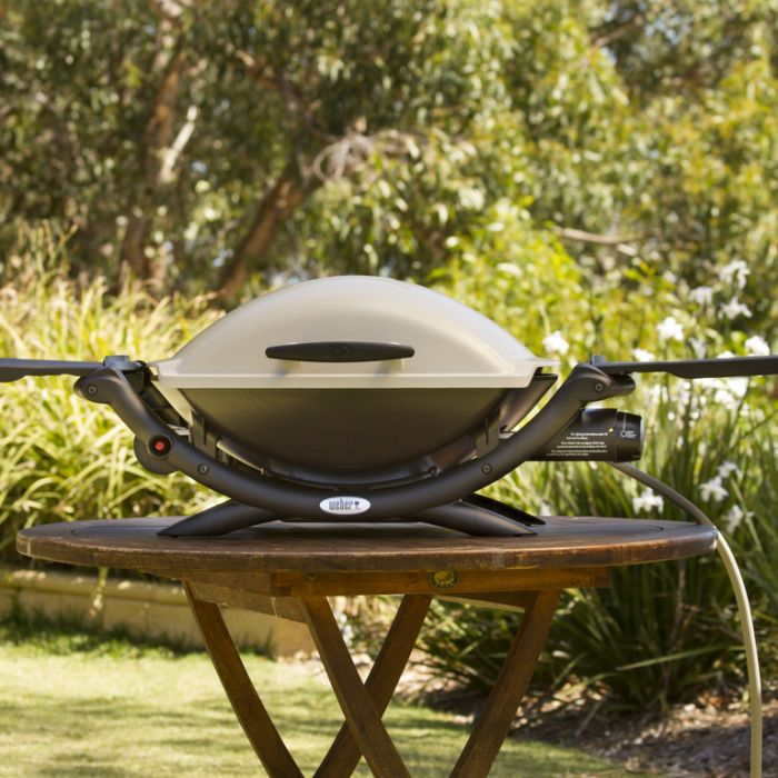 Weber® Q  NG Barbecue  ] 77924031625 - Flower Power