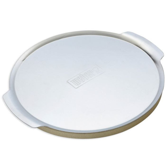 Weber® baby Q  Pizza Stone & Tray  ] 77924044113 - Flower Power