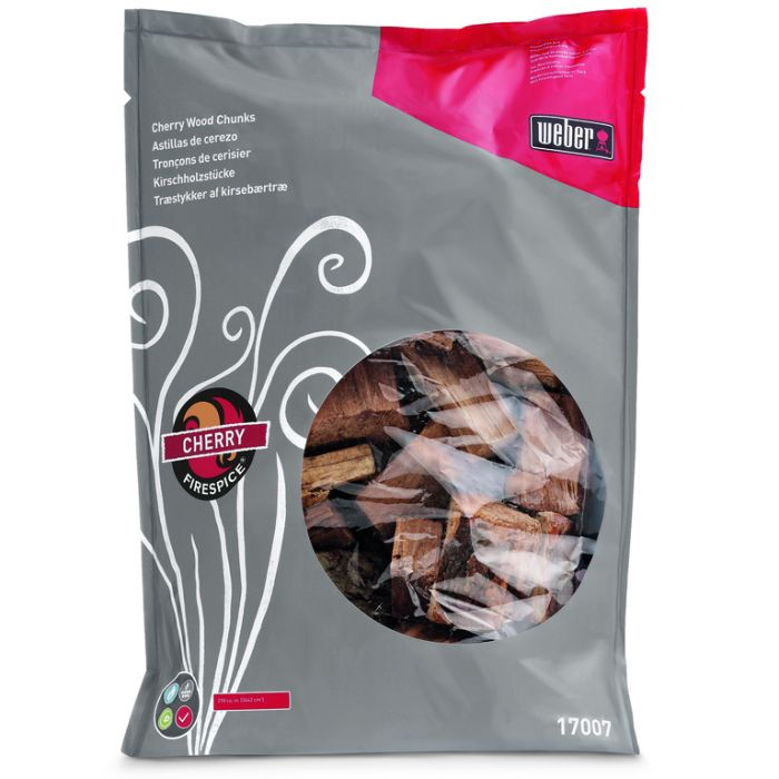 Weber® Firespice  Cherry Smoking Wood Chunks 1.8kg  ] 77924051500 - Flower Power