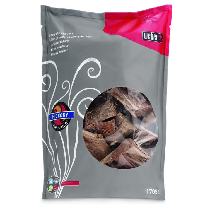 Weber® Firespice  Hickory Smoking Wood Chunks 1.8kg  ] 77924051524 - Flower Power