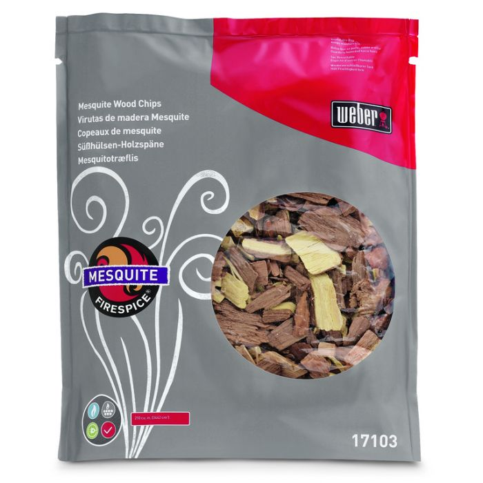 Weber® Firespice  Mesquite Smoking Wood Chips 900g  ] 77924051531 - Flower Power