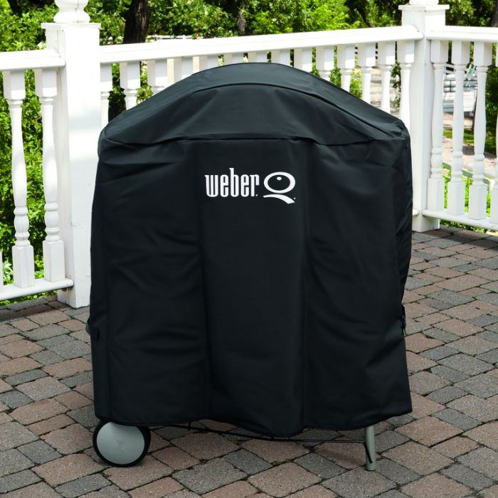 Weber® Family Q /Patio Cart Premium Cover  ] 77924059254 - Flower Power