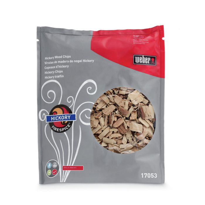 Weber® Firespice  Smoking Hickory Wood Chips 1.35kg  ] 77924170539 - Flower Power