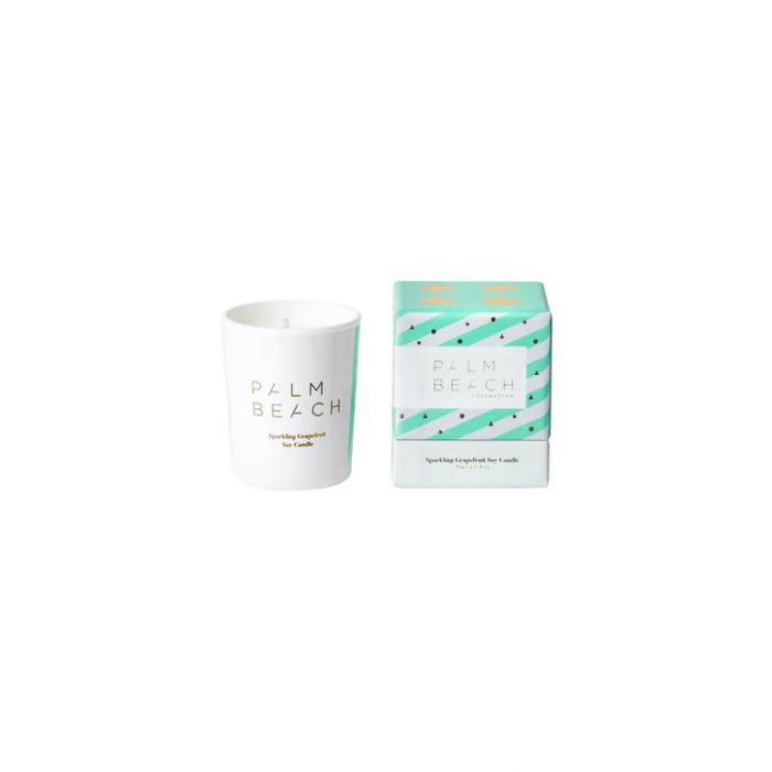 Palm Beach Collection Christmas Mini Candle Sparkling Grapefruit  ] 793591867403 - Flower Power