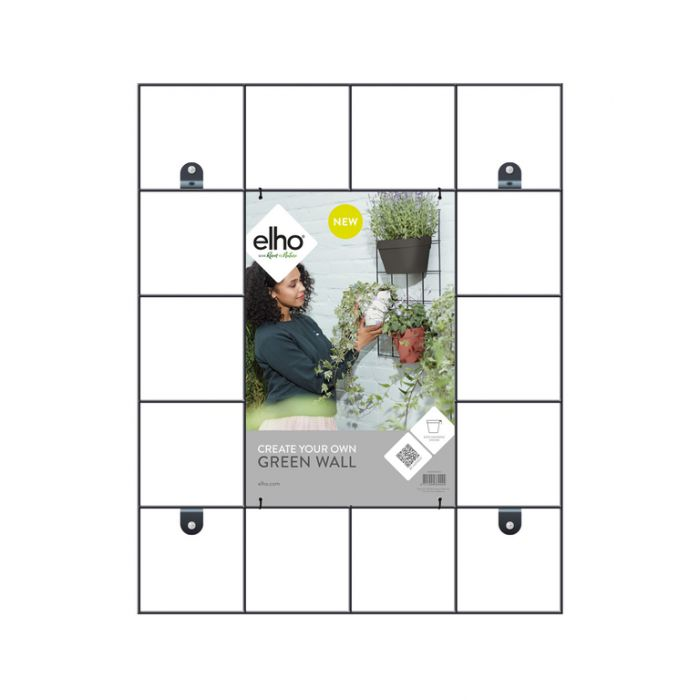 Elho Loft Urban Grow Wall Panel Black  ] 8711904334444 - Flower Power