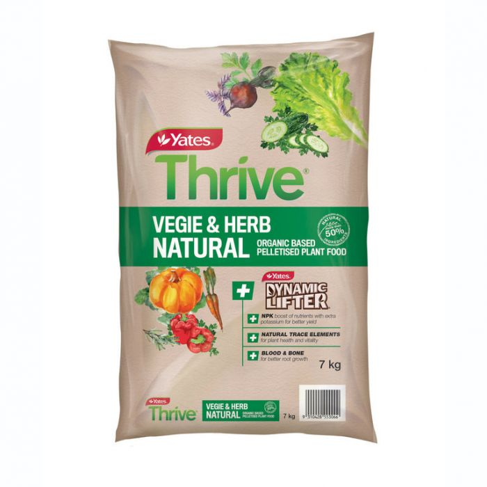 Thrive Natural Vegie & Herb Organic Based Plant Food  ] 9310428553066 - Flower Power