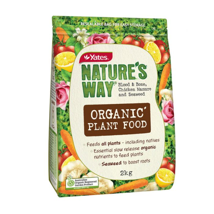 Nature s Way Organic Plant Food  ] 9310428553714 - Flower Power