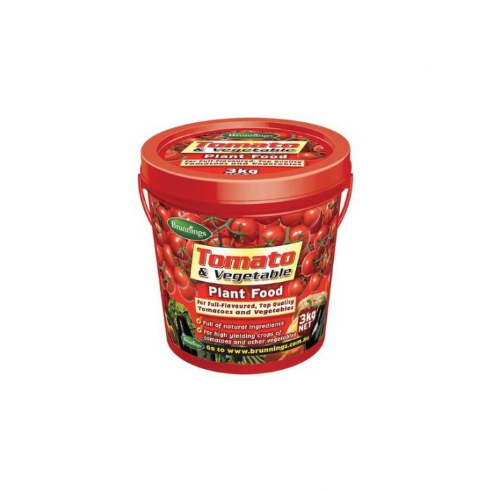Brunnings Tomato & Vegetable Plant Food  ] 9310522021836 - Flower Power
