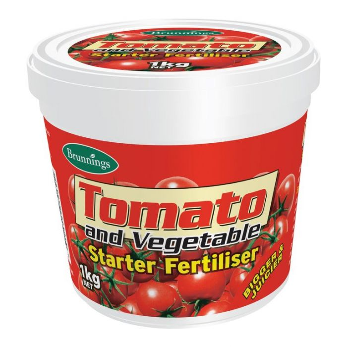 Brunnings Tomato and Vegetable Starter Fertiliser  ] 9310522030692 - Flower Power