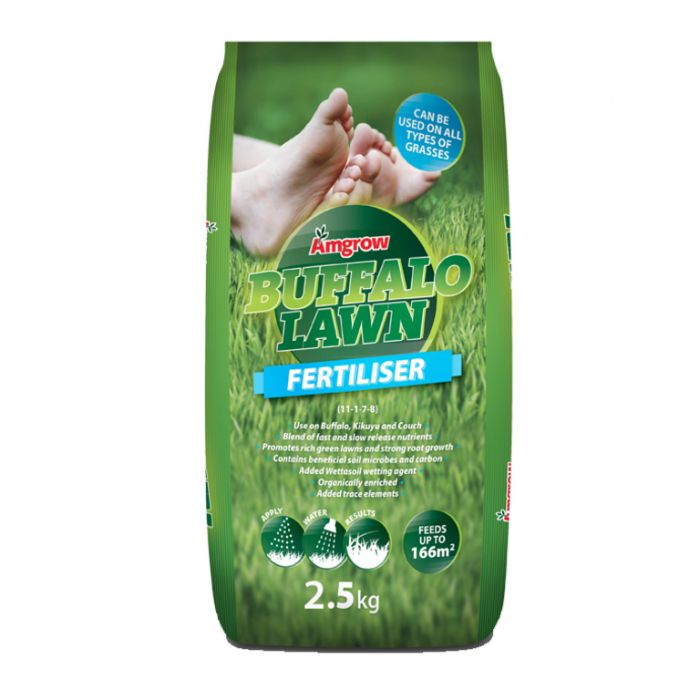 Amgrow Buffalo Lawn Fertiliser  ] 9310943550144P - Flower Power