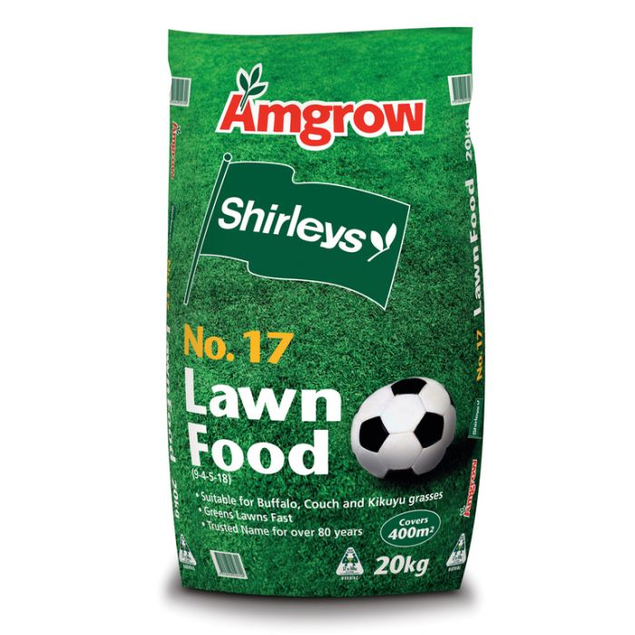 Amgrow Shirleys No.17 Lawn Food 20kg  ] 9310943550700 - Flower Power