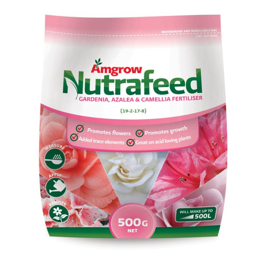 Amgrow Nutrafeed Gardenia, Azalea & Camellia Fertiliser  ] 9310943551264 - Flower Power