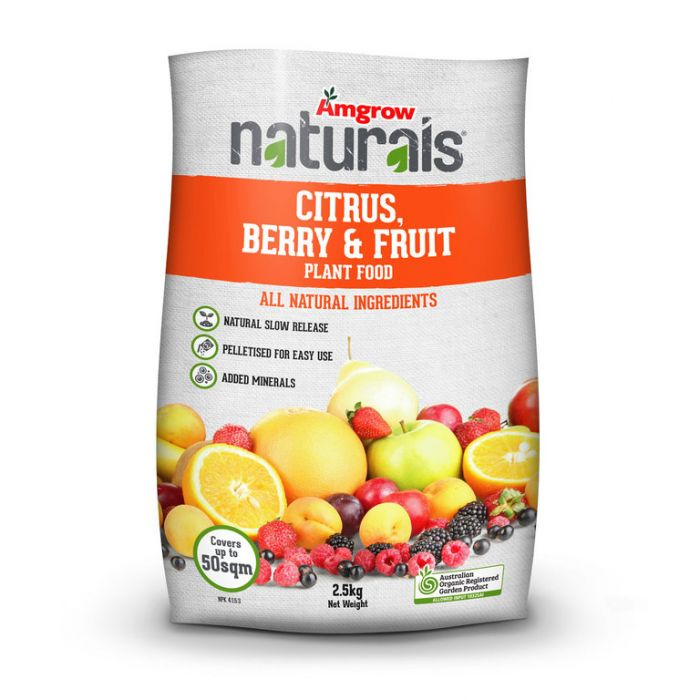 Amgrow Naturals Citrus Berry Fruit  ] 9310943602973 - Flower Power