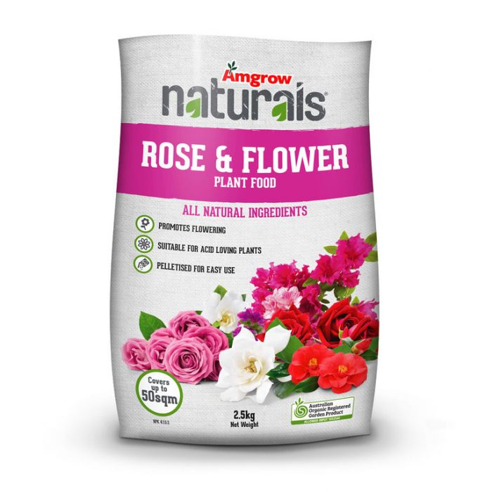 Amgrow Naturals Rose & Flower  ] 9310943602980 - Flower Power