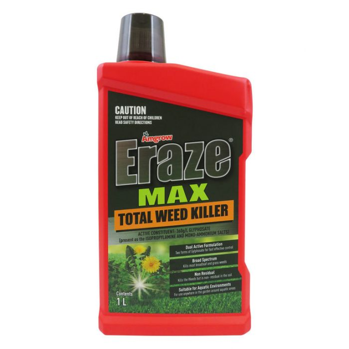 Amgrow Eraze Max Total Weed Killer  ] 9310943801208 - Flower Power