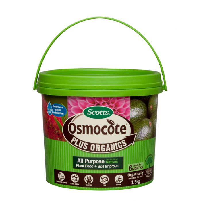 Osmocote® Plus Organics All Purpose including Natives Plant Food & Soil Improver  ] 9311105003652 - Flower Power