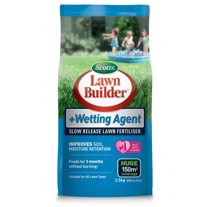 Lawn Builder  + Wetting Agent Slow Release Lawn Fertiliser  ] 9311105005885P - Flower Power