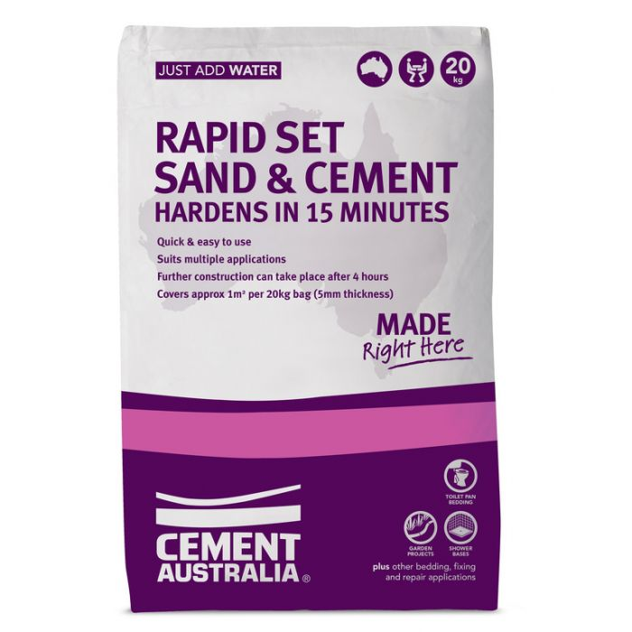 Rapid Set Sand and Cement 20kg  ] 9311808033321 - Flower Power