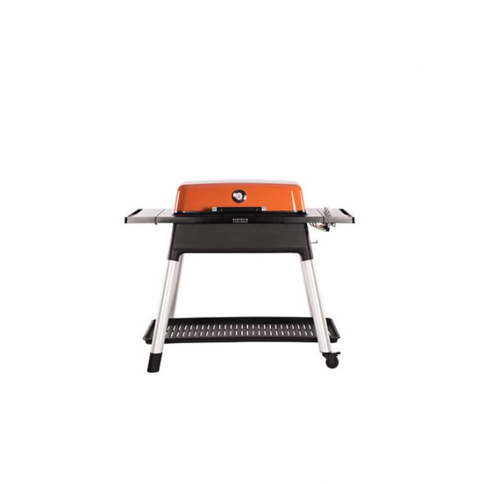 Everdure Furnace Gas BBQ + Stand Orange  ] 9312646023512 - Flower Power