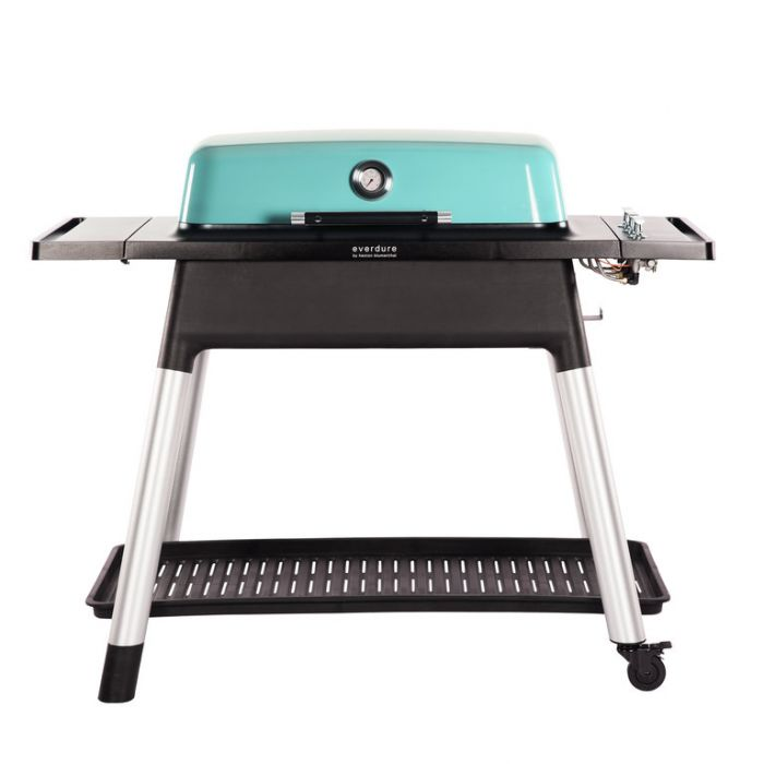 Everdure Furnace Gas BBQ + Stand Mint  ] 9312646023895 - Flower Power