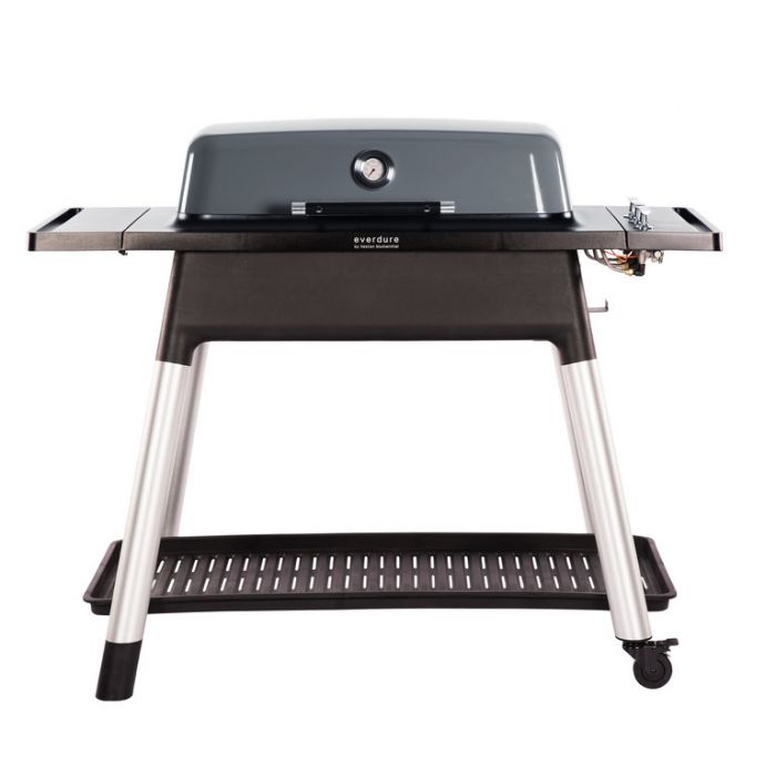 Everdure Furnace Gas BBQ + Stand Graphite  ] 9312646023901 - Flower Power