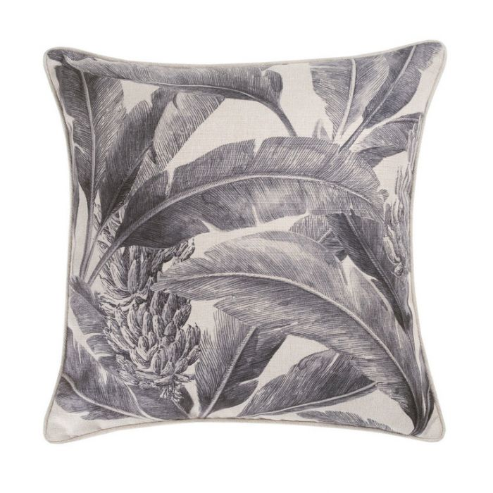 Maison by Rapee Tropicana Black Outdoor Cushion  ] 9312798192098 - Flower Power