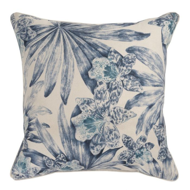 Maison by Rapee Orchida Navy Cushion  ] 9312798192678 - Flower Power