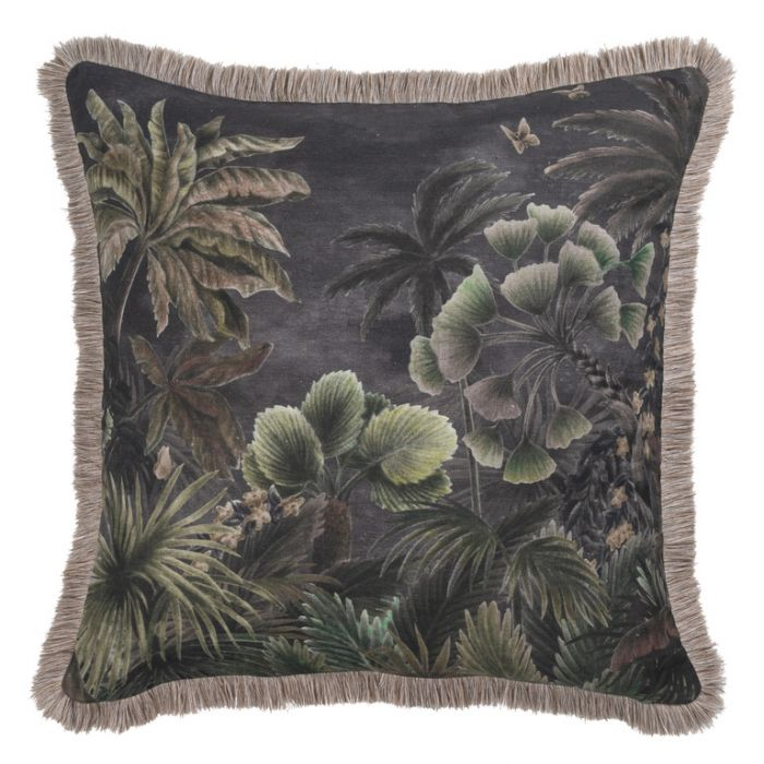 Maison by Rapee Cascade Noir Cushion  ] 9312798196010 - Flower Power