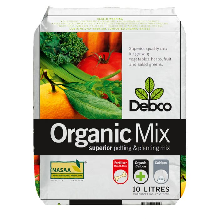 Debco Organic Superior Potting & Planting Mix  ] 9313209610002P - Flower Power