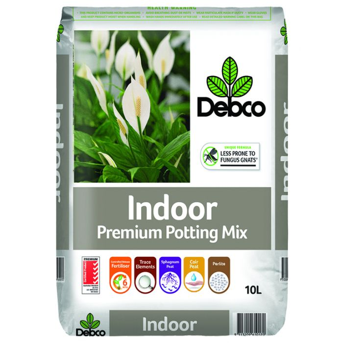Debco Indoor Premium Potting Mix  ] 9313209610170 - Flower Power