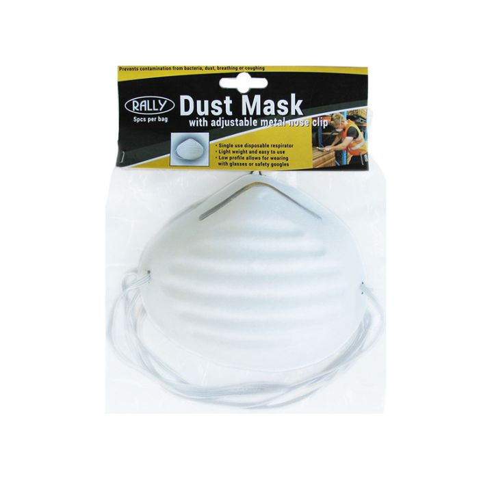 Dust Mask with Nose Clip  ] 9315532065566 - Flower Power