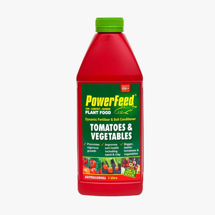 Powerfeed Dynamic Fertiliser & Soil Conditioner For Tomatoes & Vegetables Hose On  ] 9320124230895 - Flower Power