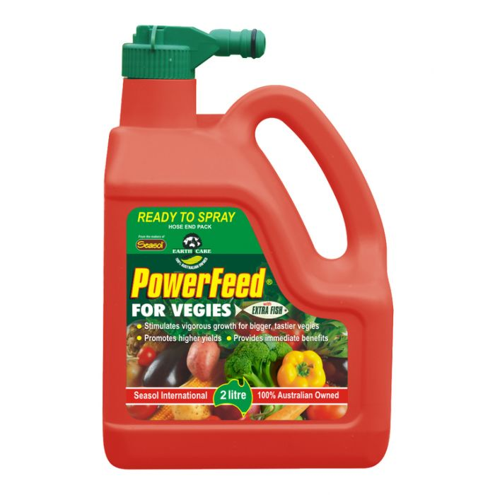 Powerfeed Dynamic Fertiliser & Soil Conditioner For Tomatoes & Vegetables Concentrate  ] 9320124230918 - Flower Power