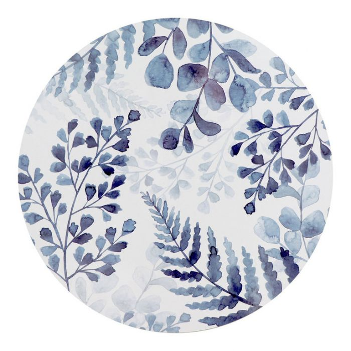 Madras Link Fernery Round Placemat  ] 9320947165664 - Flower Power