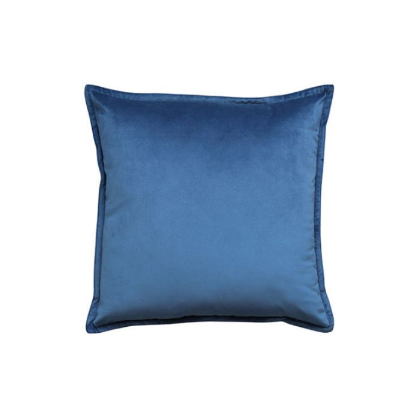 Madras Link Mira Velvet Dark Blue Cushion  ] 9320947169181 - Flower Power