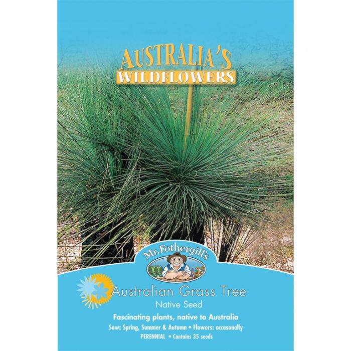 Mr Fothergill's Australian Grass Tree  ] 9324190057578 - Flower Power