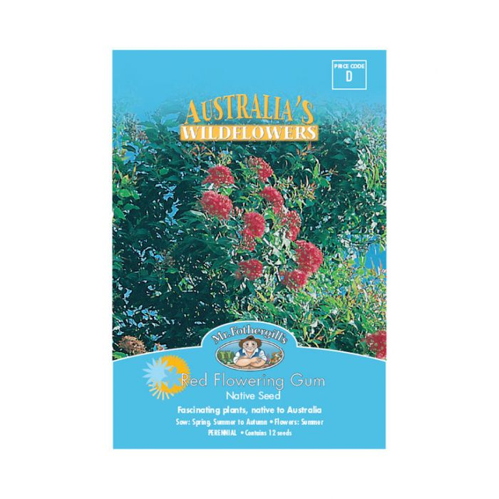 Mr Fothergill's Red Flowering Gum  ] 9324190057776 - Flower Power
