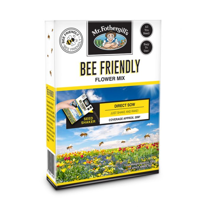 Bee Friendly Flower Mix 100g  ] 9324190066464 - Flower Power