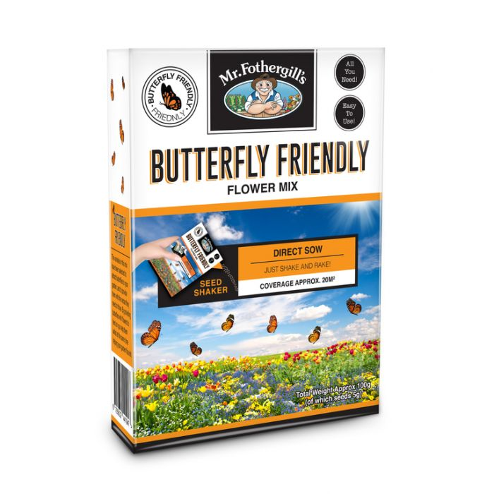 Butterfly Friendly Flower Mix 100g  ] 9324190066471 - Flower Power