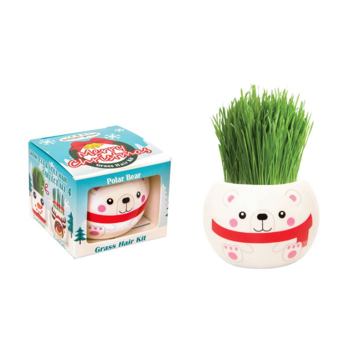 Grass Hair Kit Christmas - Polar Bear  ] 9324190096690 - Flower Power