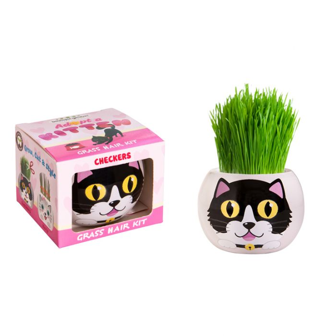 Grass Hair Kit Kitten - Checkers  ] 9324190097673 - Flower Power